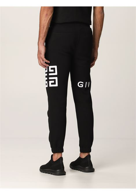Black cotton Givenchy logo-print sweatpants   GIVENCHY |  | BM50WB3Y6U001