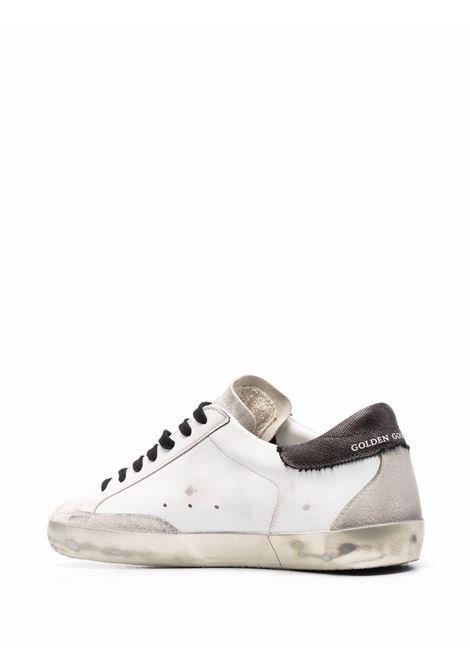 White leather Superstar distressed sneakers  GOLDEN GOOSE |  | GMF00102-F00214910795