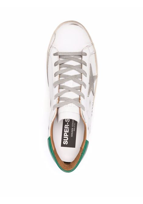 White leather and recycled rubber Superstar low-top sneakers  GOLDEN GOOSE |  | GMF00102-F00218010802