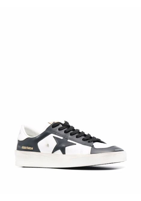 White and black leather Stardan low-top sneakers  GOLDEN GOOSE |  | GMF00128-F00218610283