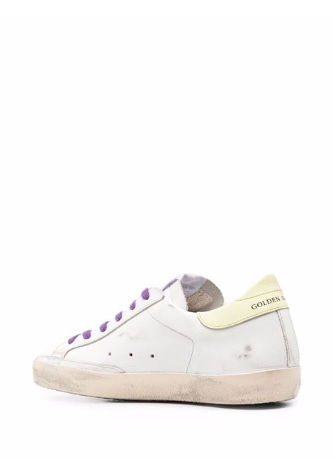 White leather Superstar glitter-embellished sneakers  GOLDEN GOOSE |  | GWF00101-F00155480799