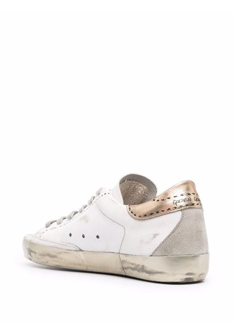 White leather SuperStar low-top sneakers with Grey star patch  GOLDEN GOOSE |  | GWF00102-F00202810750