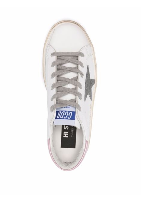 White leather Hi Star leather sneakers  GOLDEN GOOSE |  | GWF00119-F00194110746