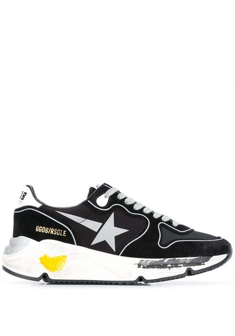 Black and grey Running Sole panelled sneakers  GOLDEN GOOSE |  | GWF00126-F00032690178