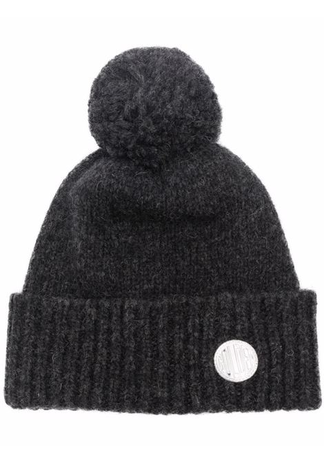 Berretto a palloncino in lana di alpaca grigio scuro GOLDEN GOOSE | Cappelli | GWP01040-P00056260259