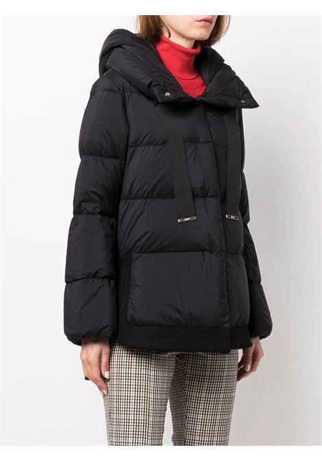 black quilted padded coat featuring press-stud fastening HERNO |  | PI1341D-192889300