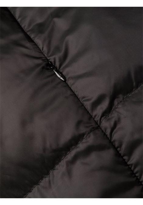 Piumino imbottito in piuma nera con cappuccio HERNO | Piumini | PI1363D-124209300