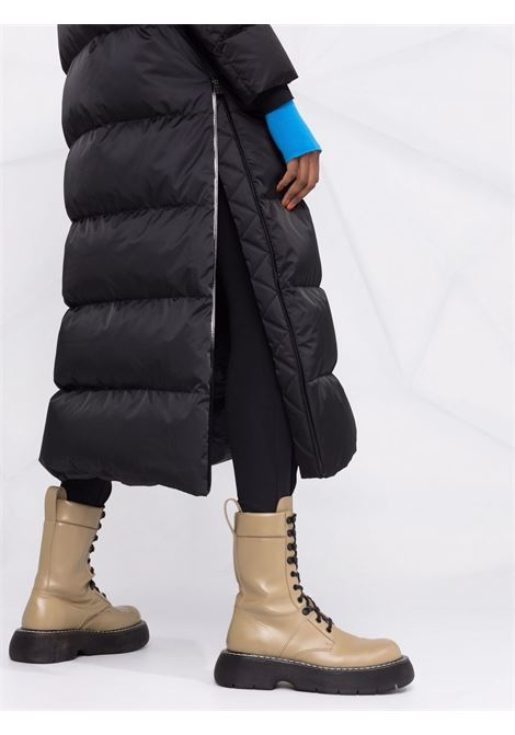 Black feather down hooded padded coat  HERNO |  | PI180DL-124959300