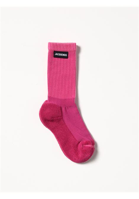 Calzini Les Chaussettes à L'Envers in misto cotone rosa JACQUEMUS | Calze | 213AC04-500400430