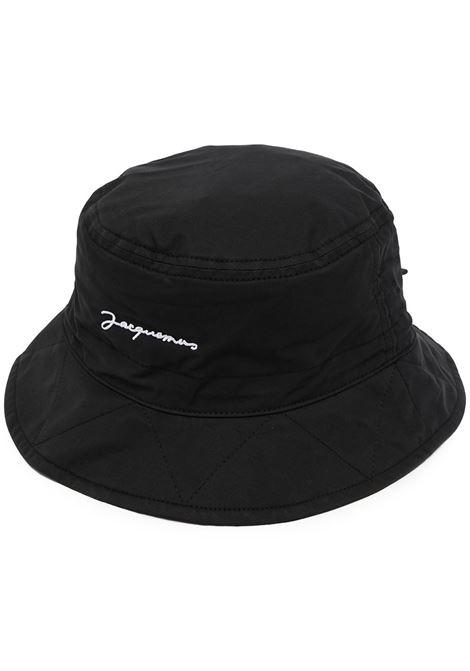 Cappello alla pescatore Le bob Picchu in cotone nero JACQUEMUS | Cappelli | 213AC10-505990990