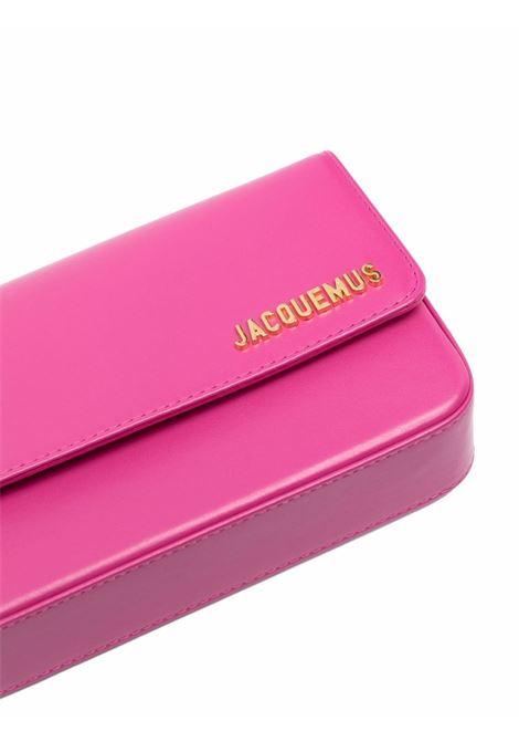Borsa a spalla Le Carinu in pelle rosa JACQUEMUS | Borse a tracolla | 213BA08-300450430