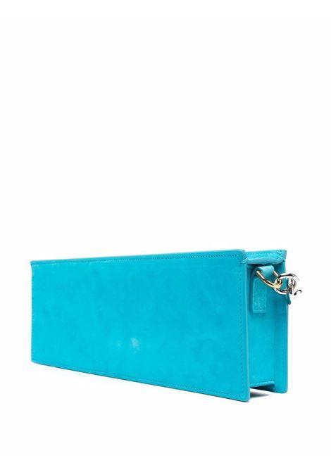 Turquoise blue leather Le Sac Ciuciu tote bag   JACQUEMUS |  | 213BA11-304340340