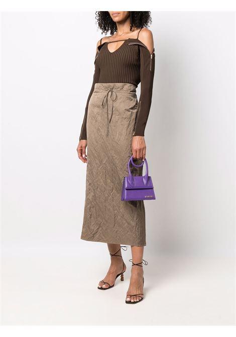 Brown La maille Oro sweater  JACQUEMUS |  | 213KN17-219880880