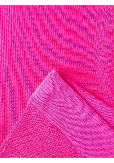 Leggings rosa Le Legging Arancia con lavorazione a coste JACQUEMUS | Pantaloni | 213KN66-206450430