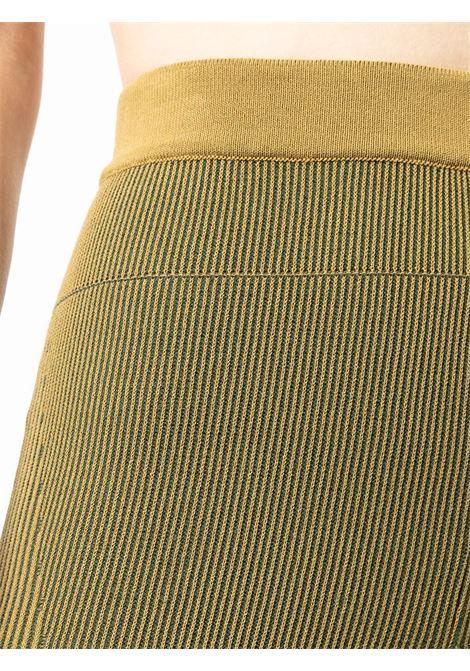 Khaki green Le Leggings Arancia high-waisted leggings  JACQUEMUS |  | 213KN66-206520560