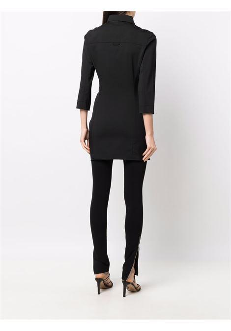 Black wool Jocou asymmetric tunic shirt  JACQUEMUS      213TO08-104970990