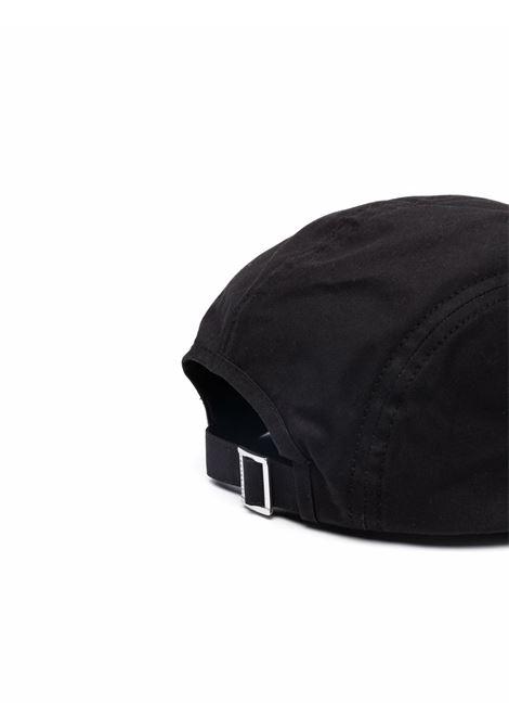 cappello nero La Casquette Porte in morbido nylon e cotone JACQUEMUS | Cappelli | 216AC08-503990990