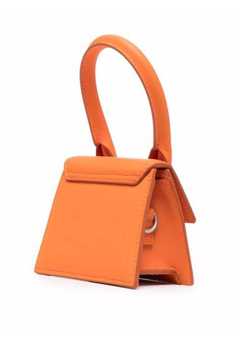 Orange leather Le Chiquito Homme Mini bag   JACQUEMUS |  | 216BA01-307740750
