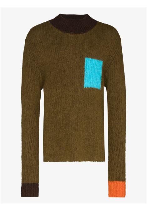 khaki green sweater La Maille Merano JACQUEMUS |  | 216KN03-240050050