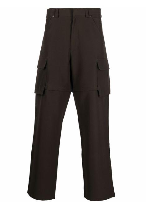 Khaki green cargo trousers featuring detachable legs JACQUEMUS |  | 216PA07-136570580