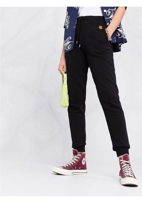 Black cotton hoodie featuring signature Tiger patch KENZO |  | FB5-2PA722-4ML99
