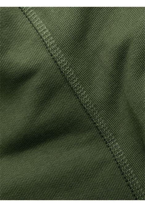 Green cotton thigh-length dress featuring Kenzo logo  KENZO |  | FB5-RO763-4ML51