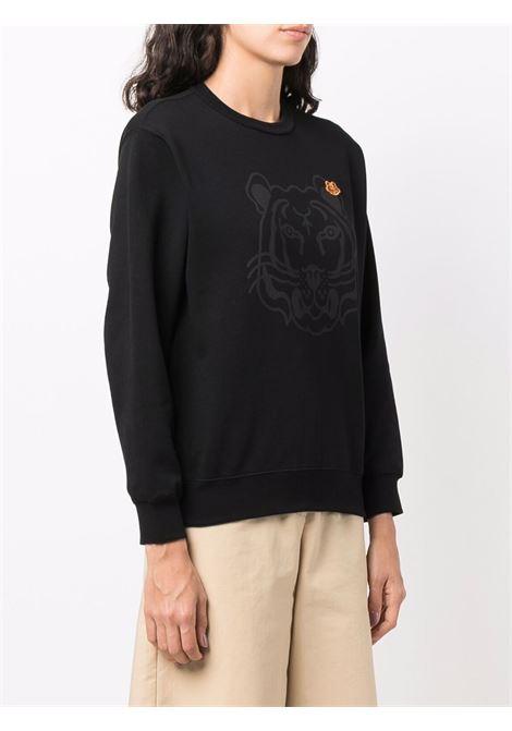 Black cotton Tiger cotton sweatshirt  KENZO |  | FB6-2SW831-4MO99