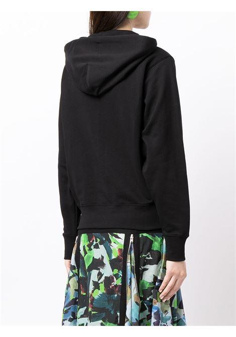 Black Tiger Head embroidered cotton hoodie  KENZO |  | FB6-2SW871-4XA99