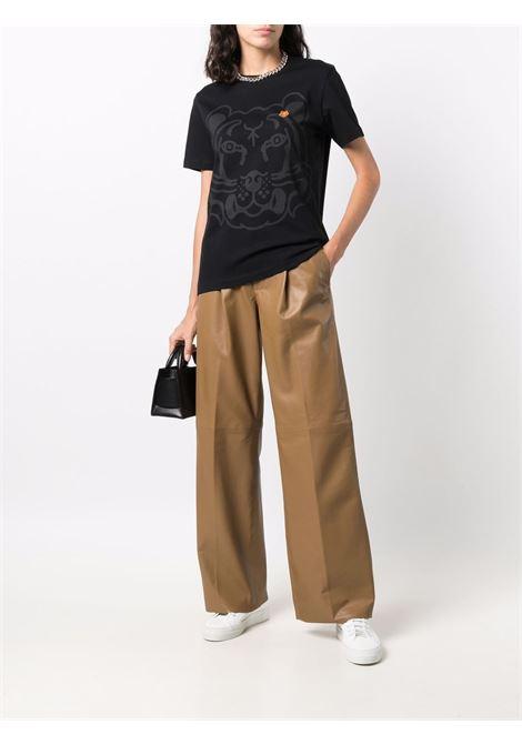 black cotton K-Tiger cotton T-shirt  KENZO |  | FB6-2TS918-4SA99