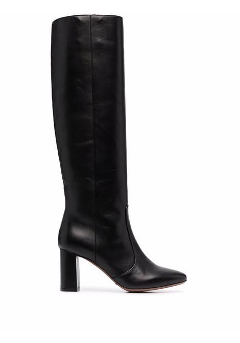 Stivali neri al ginocchio in pelle con punta tonda L'AUTRE CHOSE | Stivali | LDM107.75WP-26151001
