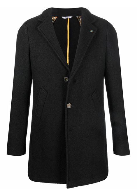 Black wool textured single-breasted blazer  MANUEL RITZ |  | 3132C4900-21383799