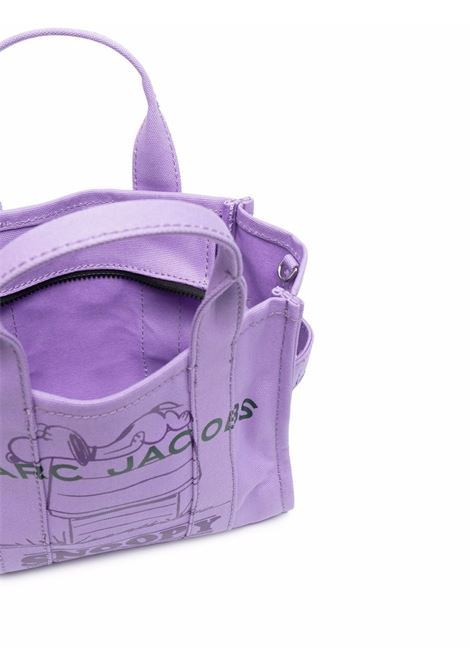 Violet cotton The Mini Snoopy tote bag   MARC JACOBS |  | H025M06FA21500