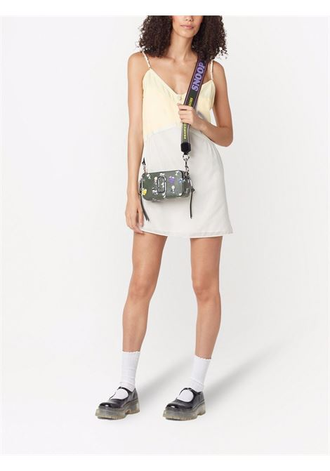 Khaki leather The Snapshot camera bag featuring Peanuts print MARC JACOBS |  | H136L01FA21316