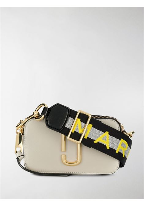 Grey cow leather The Snapshot crossbody bag  MARC JACOBS |  | M0014146088