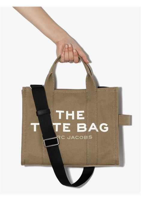Slate green canvas and cotton small The Traveler tote bag  MARC JACOBS |  | M0016161372