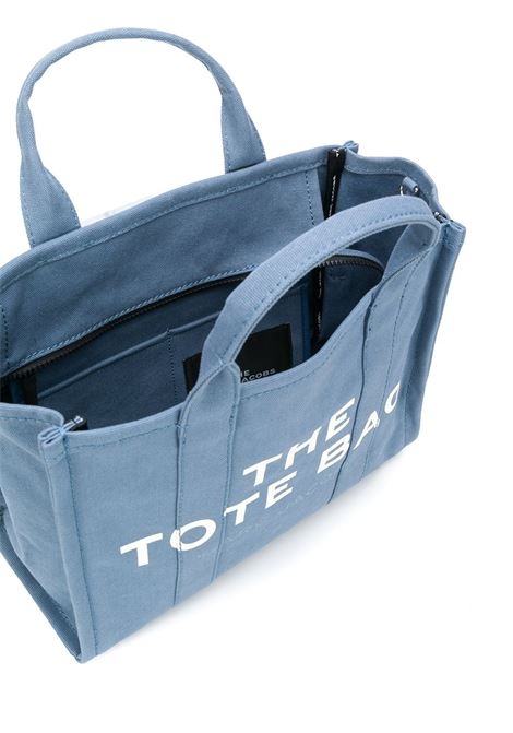 light navy canvas and cotton small The Traveler tote bag  MARC JACOBS |  | M0016161481