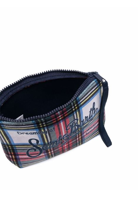 tartan-print wash bag featuring MC2 logo print  MC2 |  | ALINE W-TRTNTRTN10