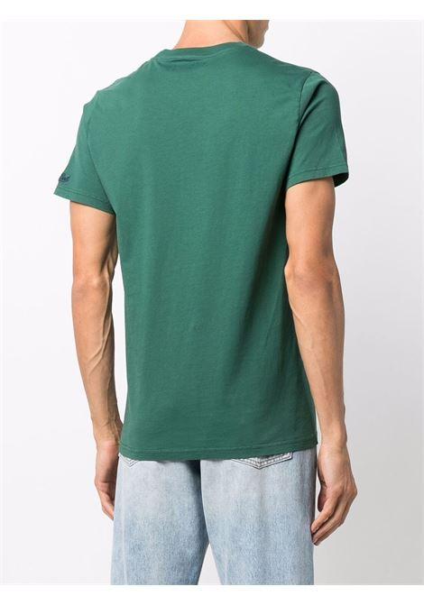 Green cotton Vespa print T-shirt  MC2 |  | ARNOTT-50 VESPA51