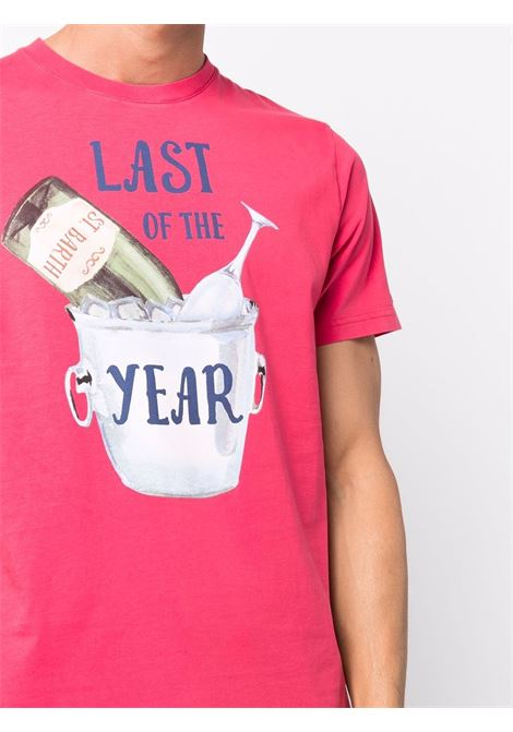red cotton Last of the Year graphic print T-shirt  MC2 |  | ARNOTT-LAST YEAR41