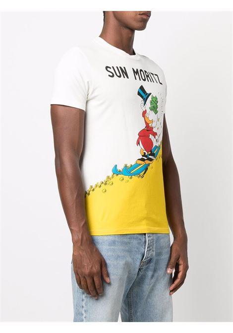 white Uncle Scrooge cotton graphic-print short-sleeved T-shirt  MC2 |  | ARNOTT-SCROOGE MORI10