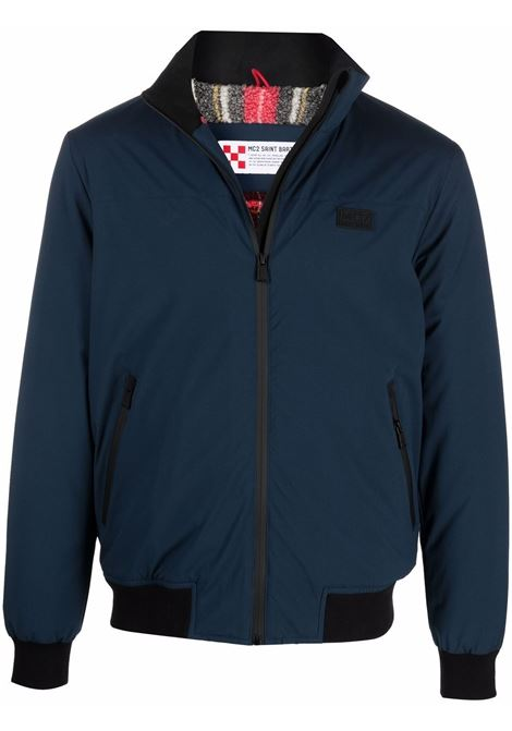 Blue Country Sherpa jacket featuring black zip MC2 |  | COUNTRY SHERPA61TR10