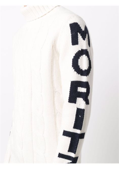 White roll-neck jumper featuring knitted construction MC2 |  | FISHERMAN-ST MORI10