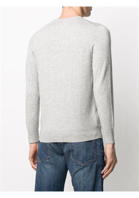 Grey cashmere and wool To be posh intasrsia knit jumper  MC2 |  | HERON LIGHT-BE POSH15ML