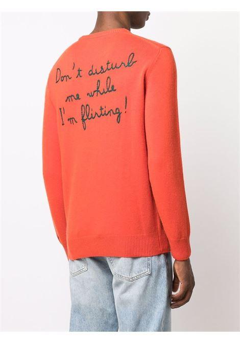 Orange wool 'Latin Lover' jumper  MC2 |  | HERON-EMB FLIRTING81