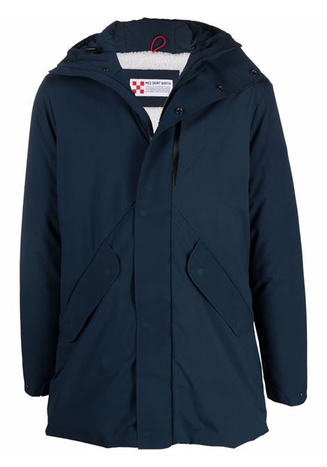 Blue Voyager zip-up parka jacket  MC2 |  | VOYAGER SHERPA6161