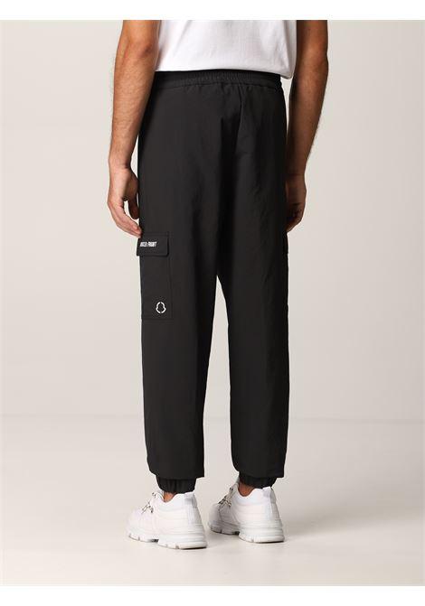 pantalone cargo nero con logo Moncler Genius x Fragment Design MONCLER GENIUS | Pantaloni | 2A000-05-5499N999