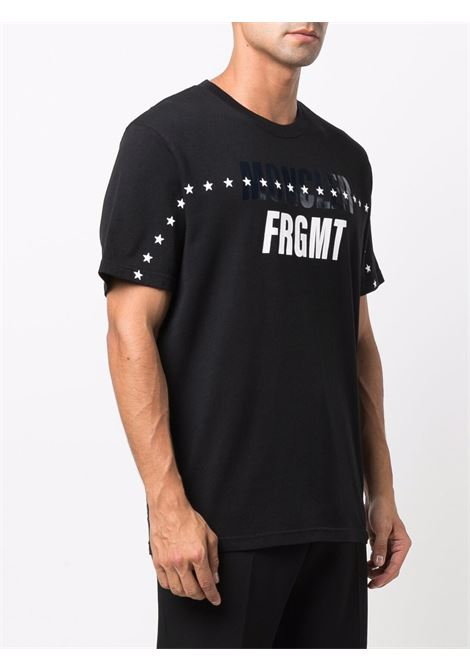 Black and white cotton Moncler x Fragment Design print t-shirt  MONCLER GENIUS |  | 8C000-03-8392B999