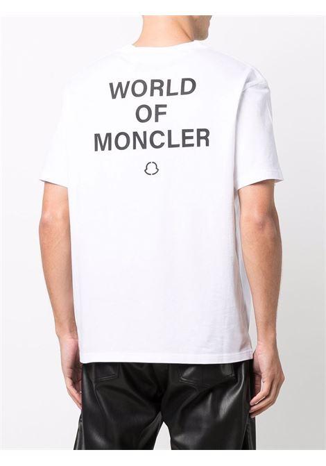 White cotton W.O.M T-shirt  MONCLER GENIUS |  | 8C000-08-8392B001