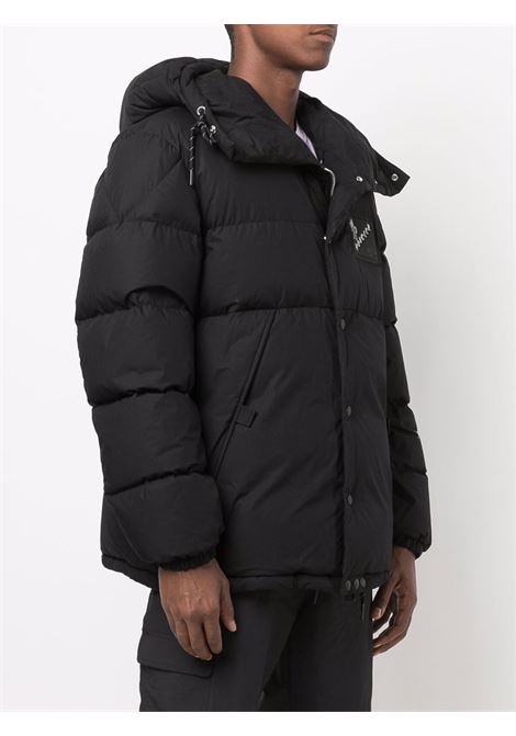black cotton zip-up hooded down Alken jacket  MONCLER GENIUS |  | ALKEN 1A000-18-595G5999