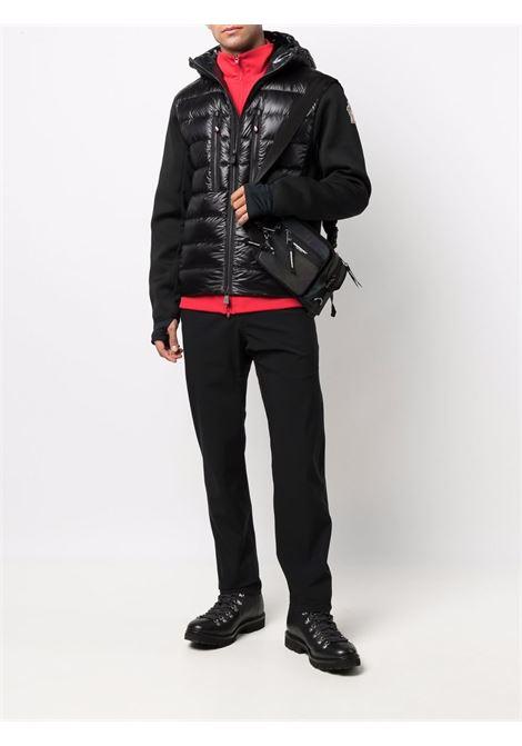 Piumino imbottito in piuma nera con maniche lunghe MONCLER GRENOBLE | Cardigan | 9B000-09-C9043999